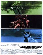 Affiche Music Lovers - La Symphonie pathétique
