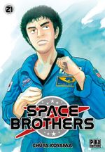 Couverture Space Brothers, tome 21