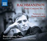 Pochette Piano Concerto no. 3 / Variations on a Theme of Corelli