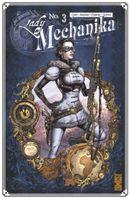 Couverture La Tablette des destinées - Lady Mechanika, tome 3