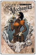 Couverture Révélations - Lady Mechanika, tome 2