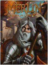 Couverture La Forteresse de Kunjir - Merlin, la quête de l'épée, tome 2