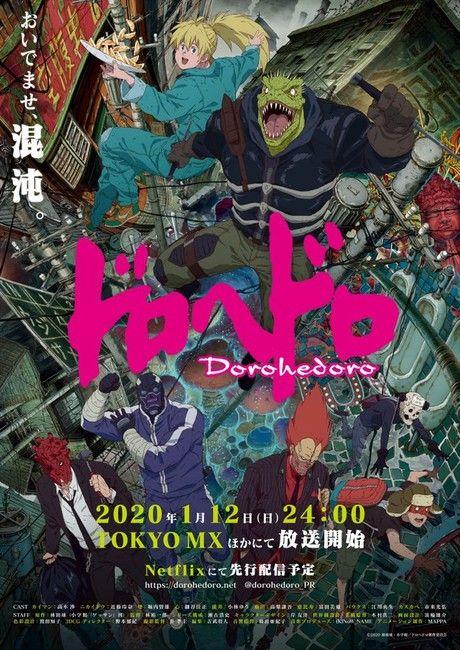 Dorohedoro - Anime (2020) - SensCritique