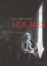 Couverture La Dame de Scutari - Holmes, tome 4