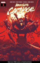 Couverture Absolute Carnage