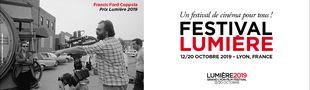 Cover Festival Lumière 2019