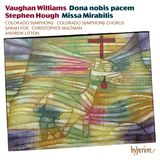 Pochette Vaughan Williams: Dona nobis pacem / Hough: Missa Mirabilis
