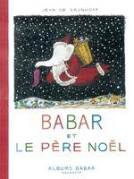 Couverture Babar et le Père Noël