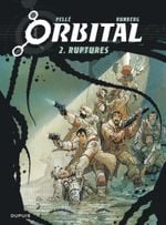 Couverture Ruptures - Orbital, tome 2