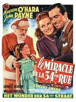 Affiche Le Miracle de la 34e Rue