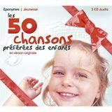 Pochette Les 50 Chansons préférées des enfants