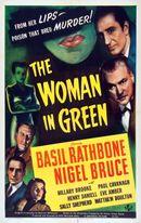 Affiche La Femme en vert
