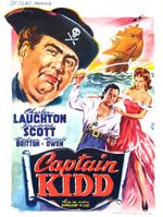 Affiche Le Capitaine Kidd