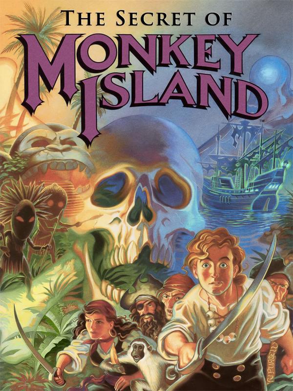 """Les jeux d'aventure (dont les """"point'n click"""" et les """"Visual Novel"""")  The_Secret_of_Monkey_Island"""