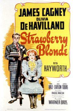 Affiche La Blonde framboise