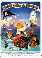 Affiche Barbe d'or et les Pirates