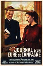Affiche Journal d'un curé de campagne