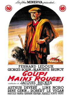 Affiche Goupi mains rouges