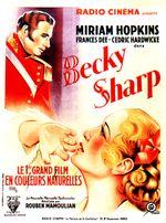 Affiche Becky Sharp