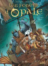 Couverture La Fable oubliée - Les Forêts d'Opale, tome 11