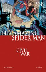 Couverture The Amazing Spider-Man #538