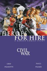 Couverture Heroes for Hire #1