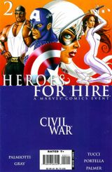 Couverture Heroes for Hire #2