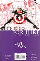 Couverture Heroes for Hire #3