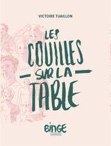 Couverture Les couilles sur la table