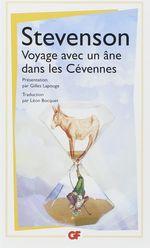 Couverture Voyage avec un âne dans les Cévennes