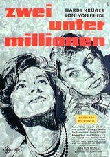 Affiche Zwei unter millionen