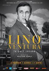Affiche Lino Ventura - la part intime