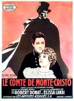 Affiche Le Comte de Monte Cristo