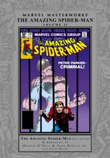 Couverture Marvel Masterworks: The Amazing Spider-Man, Volume 21