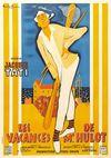 Affiche Les Vacances de M. Hulot