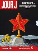 Couverture Lune rouge 1/3 - Jour J, tome 37