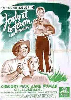Affiche Jody et le Faon