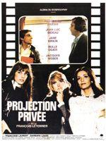 Affiche Projection privée