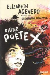 Couverture Signé poète X