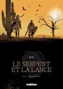 Couverture Ombre Montagne - Le Serpent et la lance, tome 1
