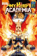 Couverture L'Étoffe des héros - My Hero Academia, tome 21