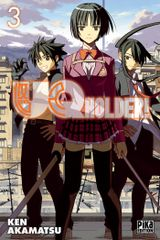 Couverture UQ Holder!, tome 3