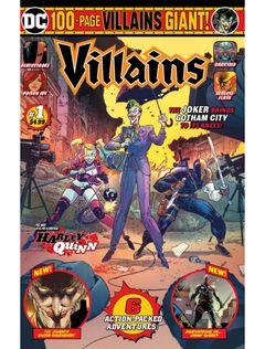 Couverture 100-Page Villains Giant! #1
