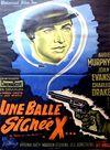 Affiche Une balle signée X
