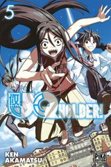Couverture UQ Holder!, tome 5