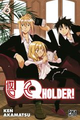 Couverture UQ Holder!, tome 6