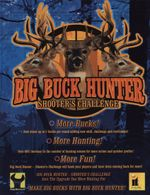 Jaquette Big Buck Hunter : Shooter's Challenge