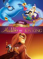Jaquette Aladdin & Le Roi Lion