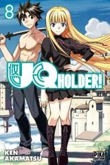 Couverture UQ Holder!, tome 8