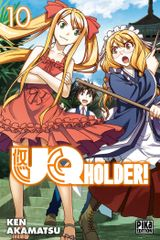 Couverture UQ Holder!, tome 10